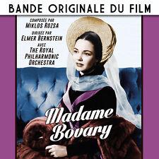 CD Madame Bovary : Bande Originale du Film - Miklos Rozsa - Elmer Bernstein  OST