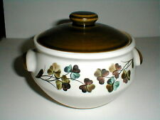 Denby Langley China SHAMROCK 2 PT Pint Casserole w Lid