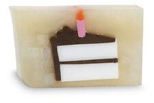 PRIMAL ELEMENTS BIRTHDAY CAKE 6.0 OZ. VEGETABLE GLYCERIN BAR SOAP HANDMADE