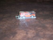 DODGE CHARGER - VINTAGE - PLASTIC TOP - 1/64 SLOT CAR - VERY NICE  - USED