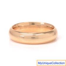Estate 14K Yellow Gold Men's Band Ring Size 11