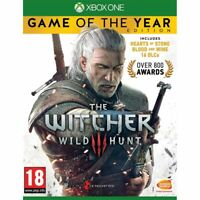 The Witcher 3 Wild Hunt Game of The Year Edition Xbox One Brand New