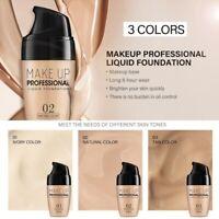 Lasting Face Base Liquid Foundation Concealer Matte Natural oil-control Primer