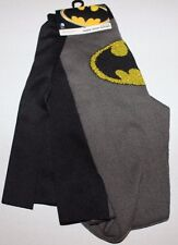 1 Pair Authentic Bioworld Batman Knee High CAPE Costume Socks