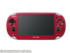 PS VITA Playstation Wi-Fi Red PCH-1000 ZA03 Handheld Game Console from Japan