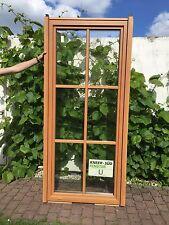 Terrassentür Sprossenfenster Holz / Aluminium in Holzoptik Sicherheitsbeschläge