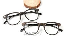 Imitation Wood Grain Acetate Full Frame Reading Glasses Reader Eyeglasses