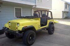 1988 Jeep Wrangler YJ, Cherokee XJ ANGRY EYES Mad Eyes Headlight V2 BAD BOY WOW!