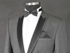 *936* Herrenanzug 4-teilig - Anzug in Grau/Schwarz