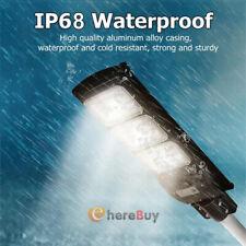 90000LM 90W LED Solar Outdoor Street Light PIR Motion Sensor Area Road Spotlight