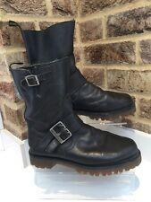 Women's Rare Biker Boots Dr Martens Size 6 EU39 Made In England