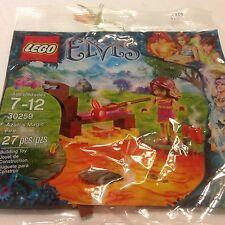 Lego Elves Azari's Magic Fire 30259 elf polybag Nip Retired with Free Kid's tick