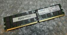 4GB Crucial CT51272AB667.Y36F PC2-5300P 667MHz 2Rx4 DDR2 ECC Server Memory RAM