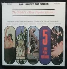 Various - World's Most Popular Classics 5LP Sealed Mint PAK DD 5 Vinyl Record