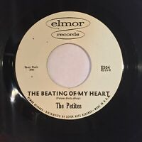 Petites Beating Of My Heart Nobody But You NM ELMOR northern soul girl group