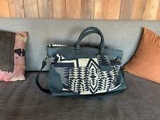 Pendleton Black & White Weekender Bag