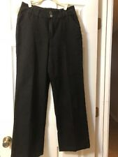 DG2 FIT AND FLARE JEANS SIZE 10  BLACK PRE-OWNED MINT CONDITION DIANE GILMAN