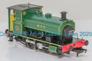 H4-AB14-005, OO Gauge, Andrew Barclay 0-4-0ST 2134 'WTT' lined green