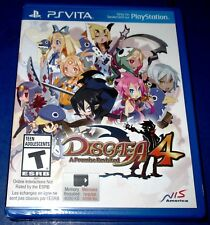 Disgaea 4: A Promise Revisited PlayStation Vita *Factory Sealed! *Free Ship!