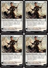 4x TEYO, THE SHIELDMAGE War of the Spark MTG White Planeswalker Unc
