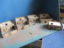 20 mm SET C Adobe village de 5 maisons & composé désert Afrique Paysage bâtiments