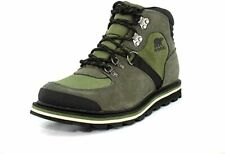 Sorel Madson Sports Hiker Green Men Suede With Rubber Sole Classic Boots US 11.5