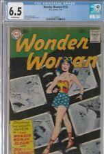 WONDER WOMAN #103 CGC 6.5 1959 THIS WEEKEND