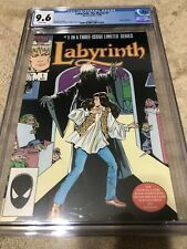 Labyrinth The Movie 1 CGC 9.6 David Bowie Jim Henson Dark Crystal 1986