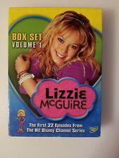Lizzie McGuire - Box Set: Volume 1 (DVD, 2004) 1st 22 episodes