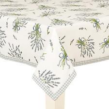 """coton Nappe /""""bouquet de lavande/"""" Clayre /& FED 100 x 100 cm"""