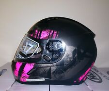 HJC CL-17 Arica Motorcycle Helmet Pink Gray XS Extra Small Snell M2015