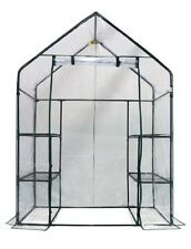 Mini Portable Greenhouse Walk In Plant Vegetables Growth Kit Plastic Patio Yard