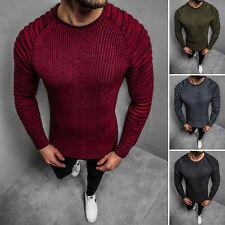 Suéter Sweater chaqueta de punto jersey de punto fino truco suéter señores ozonee 35z