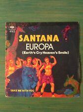 SANTANA - Europa / Take me with you - 45 t