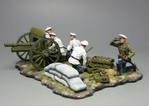 Tin soldier, General Markov's artillery, the Russian Civil War. The White Army.