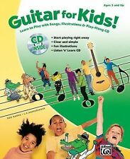Guitar For Kids! (book & Cd): By Staff, Alfred Publishing