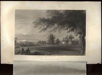 Greenwood Cemetery Battle Hill Brooklyn 1849 James Smillie drawing