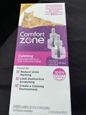 Comfort Zone Calming Diffuser Refills For Cats & Kittens 2 Pack#2103
