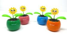 New Solar Powered Dancing Flip Flap ~Sun Face  Assorted Qty 3~ Picked at Random