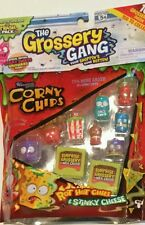 THE GROSSERY GANG 10 PACK CORNY CHIPS  From the makers of Shopkins NEW FREE SHIP