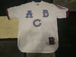 Negro League Baseball Museum Atlanta Black Crackers Baseball Jersey Size 2XL