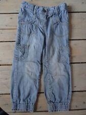 Pantalon style baggy à poches en jeans bleu KIDKANAÏ Taille 5 ans