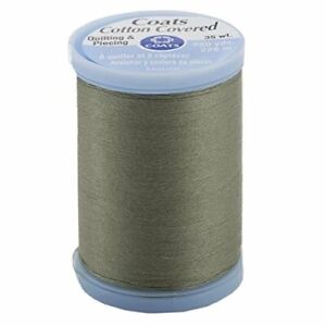 Cotton Covered Quilting and Piecing Thread, 250-Yard, Green Linen