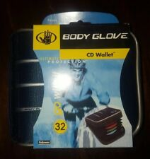 Ultimate Protection! Fellowes BODY GLOVE 32 CD/DVD/Disc Game Wallet Case Storage