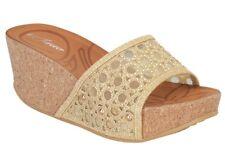 Forever Freya-21 GOLD Sparkle High-Heel Platform Sandals Lady Size 10  w/BOX