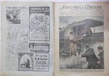 LA DOMENICA DEL CORRIERE 11 novembre 1934 Boris di Bulgaria pozzo a Voghera GUF