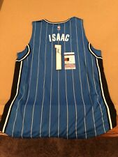 Johathan Isaac Signed Custom Orlando Magic Jersey w/ JSA COA NBA STAR