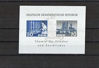 DDR 1963 Briefmarken - Block 18 - Dederongewebe mit Sonderstempel
