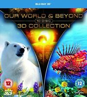Our World and Beyond 3D Collection [Blu-ray] [2015] [DVD][Region 2]