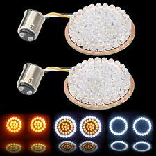 LED Insert 1157 Bullet Turn Signal Light For Harley Dyna Sportster XL 883 XL1200